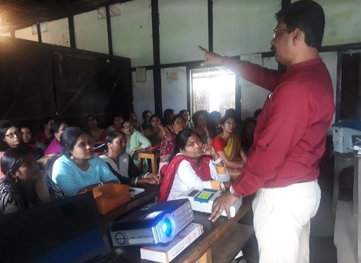 Training of polling staff for 10 all-women polling booths conducted
