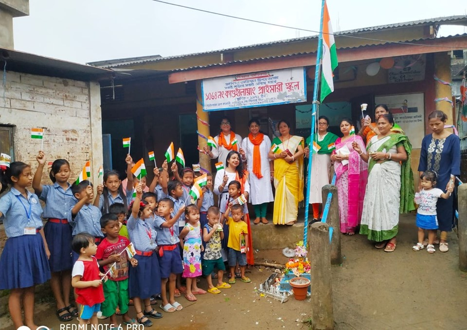Club Ananya celebrates I-Day with kids of Kaguiluang LP