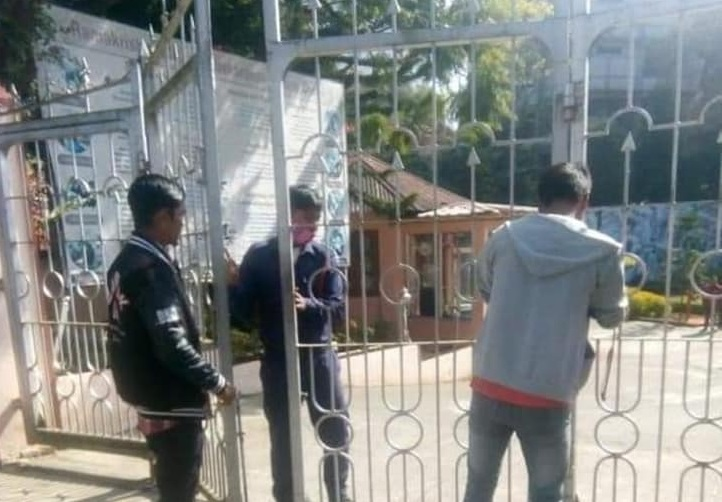 Khasi Students' Union allegedly locks Shillong Ramakrishna Mission;  reactions pour in [Driver stabbed to death in Shillong in a case of hate crime — 2]